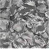 1000pcs Silver Silk Rose Petals Bouquet Artificial Flower Wedding Party Aisle Decor Tabl Scatters Confett