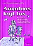 Image de Amadeus legt los (Buch): Ein kleines Mozart-Musical für Grundschule und Sekundarstufe (Al