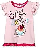 #2: Donuts Baby Girls T-Shirt (265970491_Light Pink_12M)