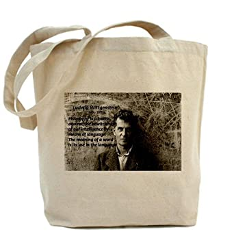 Ludwig Wittgenstein Tote bag Tote Bag by CafePress