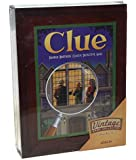 Parker Brothers Vintage Game Collection Exclusive Wooden Book Box Clue