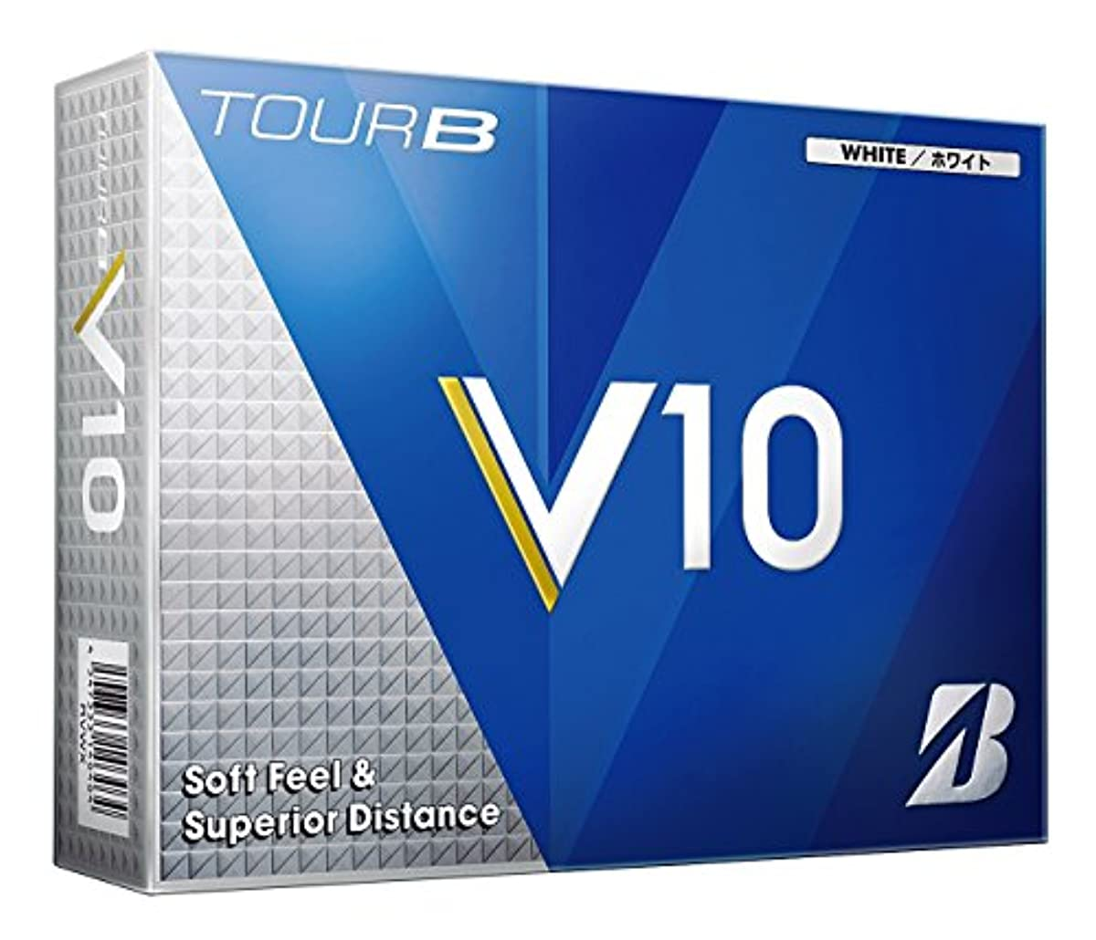 [해외] BRIDGESTONE(브리지스톤) 골프 볼 TOUR B V10 2016년 모델