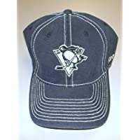 Pittsburgh Penguins Slouch Flex Reebok Hat - Size L/XL