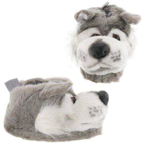 Cheap Wolf Animal Slippers for Women, Men and Kids (B002D468UM)