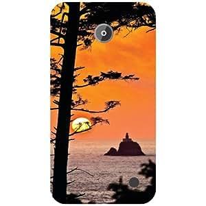 Nokia Lumia 630 Back Cover - Tooned Designer Cases