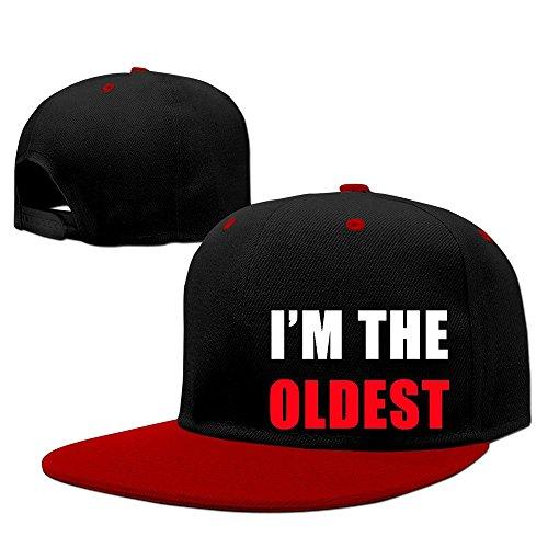 custom-unisex-adult-im-the-oldest-snapback-hit-hip-hop-baseball-cap-visor-cap-red