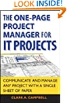 The One Page Project Manager for IT P...