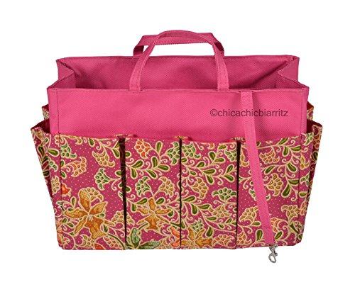 Borsa Organizer - Organizzatore Borsetta - Borsa Organizzatore - Orchid Pink - Taglia L : 25 x 18 x 11 cm