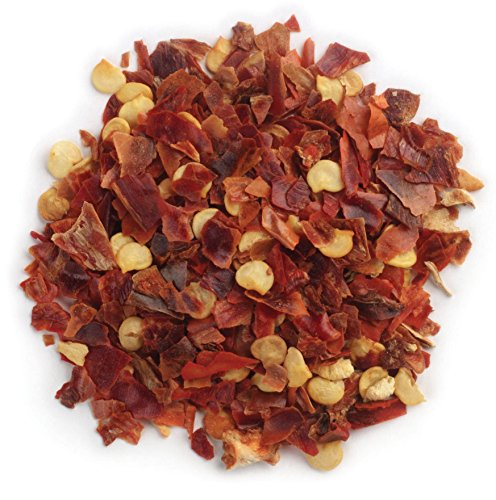 One 16 Ounce Bag Frontier Chili Peppers Crushed, Red Chili Flakes Certified Organic (Chili Pepper Organic compare prices)