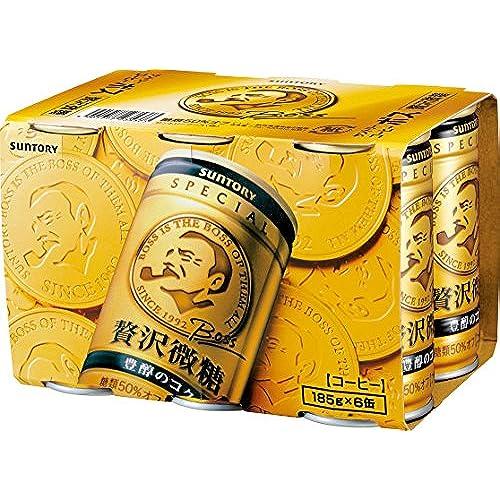 [일본 산토리 보스 캔커피 / SUNTORY BOSS COFFEE] 산토리 보스 호화미당 (185g×6깡통)×5개 (2015-03-04)