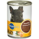 Pedigree + Healthy Immunity Choice Cuts in Gravy Food for Dogs, 13.2-Ounce Cans (Pack of 24)