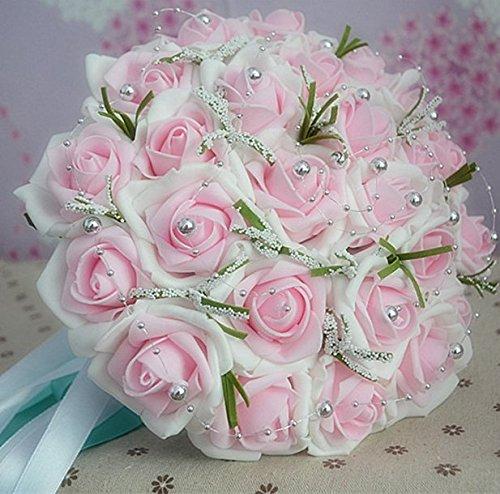 h bsch exquisit charmant braut blumen strau brautstrau super sch ne rose hochzeit bouquet. Black Bedroom Furniture Sets. Home Design Ideas