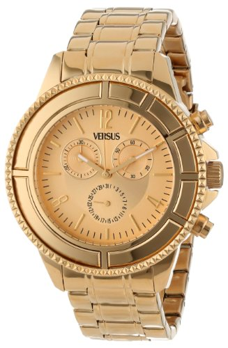 Versus by Versace Men's SGN020013 Tokyo Stainless Steel Luminous Hands Chronograph Date Watch