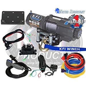 KFI Products U4500 ATV Winch Kit - 4500 lbs Capacity by KFI Products