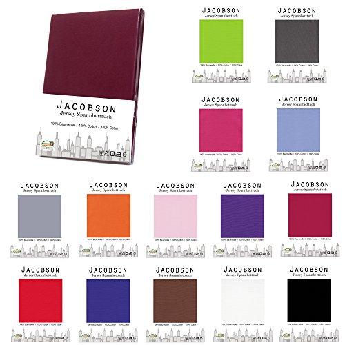 Jacobson-Jersey-Spannbettlaken-Spannbetttuch-Baumwolle-Bettlaken-180x200-200x200-cm-Beige