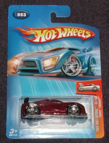 Mattel Hot Wheels, 2004 First Editions, #063 'Tooned Furiosity. 63 of 100 - 1