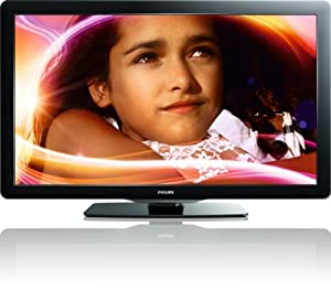 Philips 40PFL3706/F7 40-Inch 1080p 60Hz LCD HDTV (Black) (2011 Model)