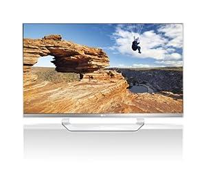 LG 47LM649S 119 cm (47 Zoll) Cinema 3D LED Plus Backlight-Fernseher (Full-HD, 400Hz MCI, DVB-T/C/S2, Smart TV) weiß/silber