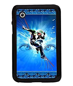 Printvisa 2D Printed Dance Designer back case cover for Samsung Galaxy Tab 2 7.0 P3100 - D4186