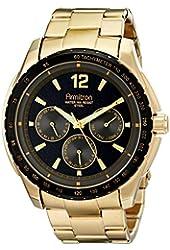 Armitron Men's 20/4984BKGP Stainless Steel Watch