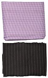 Shree Balaji Textiles Men's Shirt and Pants Fabric (Multi-Coloured)
