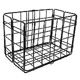 Wald 582 Rear Folding Bicycle Basket (12.75 x 7.25 x 8.5, Black)