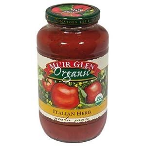 Muir Glen - Organic Pasta Sauce - Italian Herb - 25.5 oz