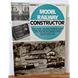 Model Railway Constructor Magazine February 1972 (Plans Pages: SR 12 ton High sided open wagon; LSWR 336 class...