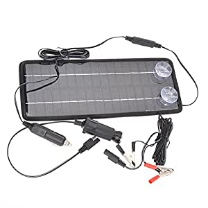 12v 4 5 w poly silicon solar panel autobatterie ladeger t f r auto lkw auto. Black Bedroom Furniture Sets. Home Design Ideas