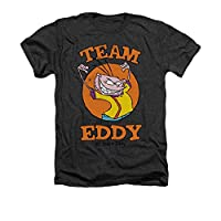 Ed Edd N Eddy Cartoon Network Show Team Eddy Adult Heather T-Shirt Tee