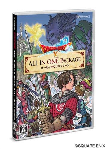 ドラゴンクエストX オールインワンパッケージ初回封入特典ゲーム内で使用できるアイテムコード(元気玉10個+ふくびき券20枚)同梱