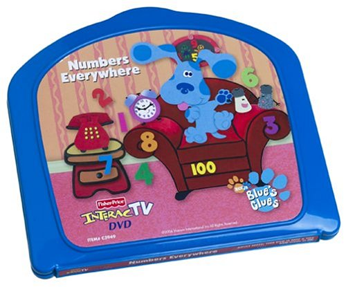 InteracTV Blue's Clues Numbers Everywhere