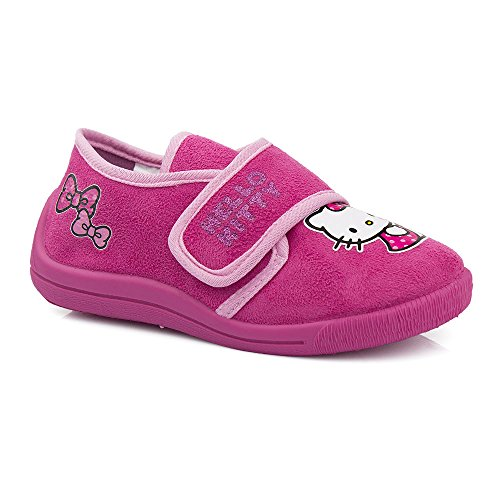 Hello Kitty, Pantofole bambine Rosa rosa, Rosa (rosa), 25