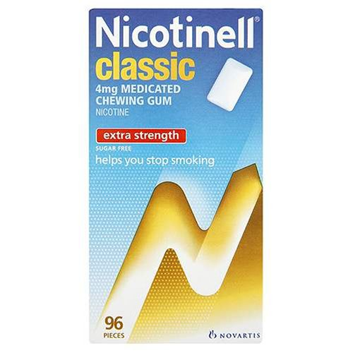 Nicotinell Chewing Gum 4mg Classic - 96 Pieces