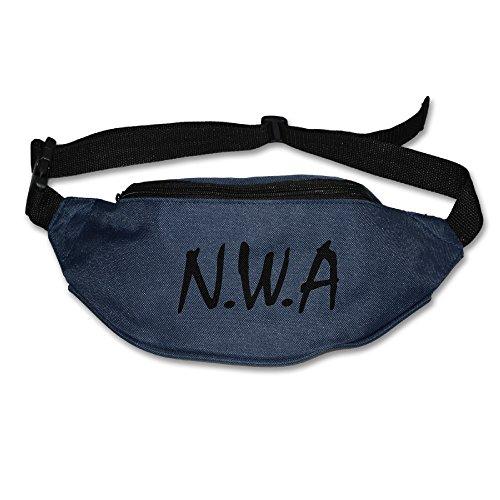 N.W.A Niggaz Wit Attitudes Hip Hop Rock Band Logo Running Waist Pack Bag (Air Jordan Alpha 1 compare prices)