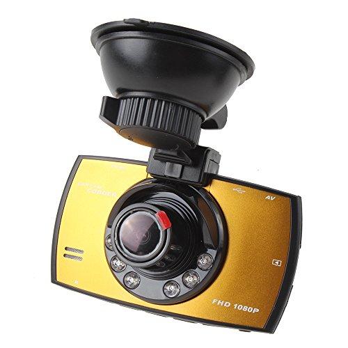 "AGPtek® 2.7"" LCD Full HD 1080P Car Camera Dash Cam Vehicle DVR - Night Vision,120 degrees,G-sensor"