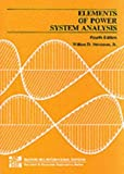 Elements of Power System Analysis William D. Stevenson Jr.