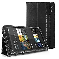 Poetic Slimbook Case for Dell Venue 8 16 GB Tablet (Android) Black (3 Years Manufacturer Warranty from Poetic)