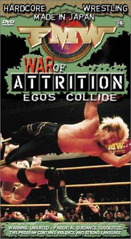 FMW (Frontier Martial Arts Wrestling) - War of Attrition [VHS]