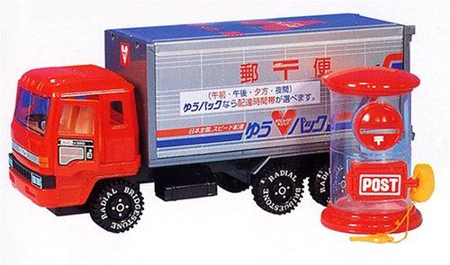 ダイヤの(ドア開き)郵便トラック(ポスト付き)