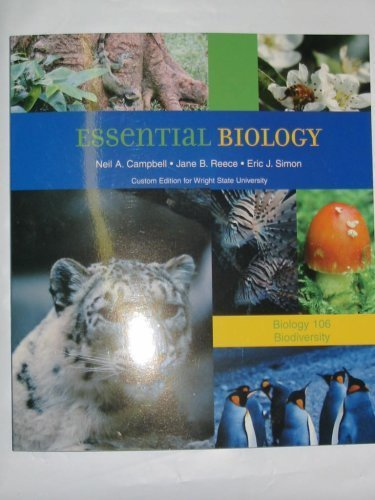 Essential Biology with CD-ROM (Biology 106 Biodiversity)