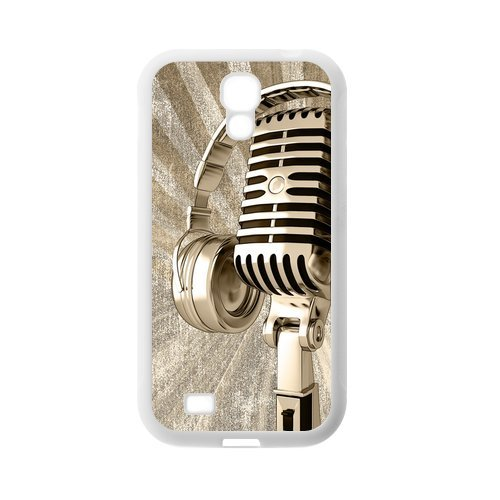 Creative Cool Microphone Personalized Durable Custom Tpu Protective Case For Samsung Galaxy S4 I9500