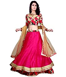 Nilkanth Enterprise Gulabo Pink Lehenga Choli