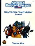 Monstrous Compendium Annual, Vol. 1 (Advanced Dungeons & Dragons, 2nd Edition)
