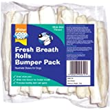 Good Boy Fresh Breath Rolls Dog Treats, Pack of 18