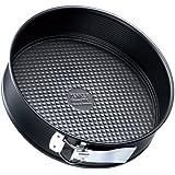 Zenker 3435 Springform Tin with 1 Base 18 cm Black