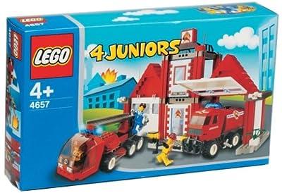 LEGO 4JUNIORS 4657 - Feuerwehrstation