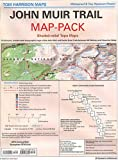 Map-pack of the John Muir Trail