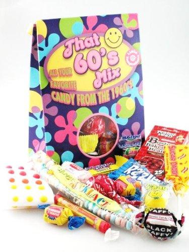 Classic 60's Candy Mix (1960's Retro Candy Bag- Decade Bag)