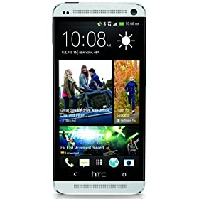 HTC One, Silver (Sprint)